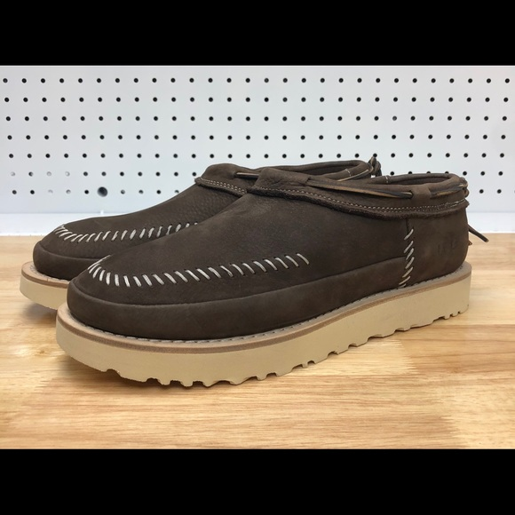 caefb4ccd23 UGG CAMPFIRE Trail Slip- On Nubuck Stout Boots NWT